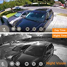 wireless outdoor camera, security camera, security camera system, wireless home camera