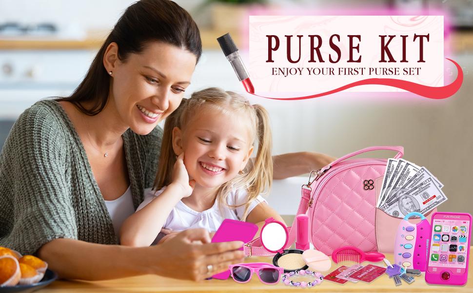 Kids Purse Pretend Play Princess