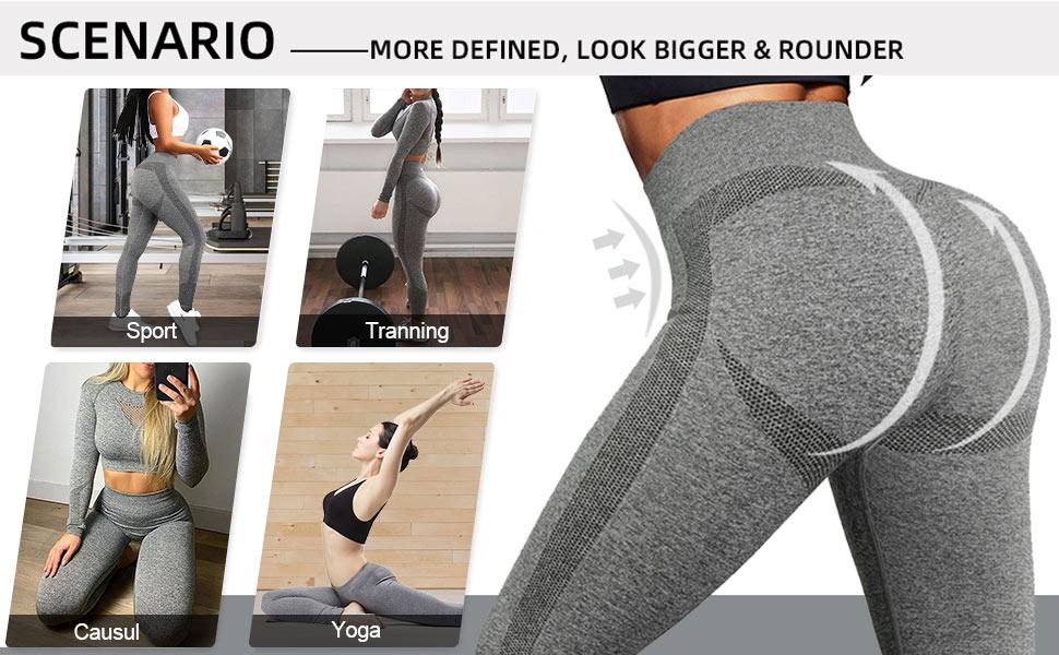 gray leggings for women