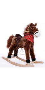 balancín mecedora niños bebes juego juguete regalo animales peluche cinturón caballo sillín sonido