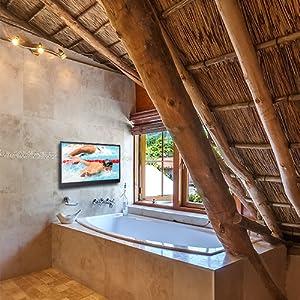 Wash room spa bathtub