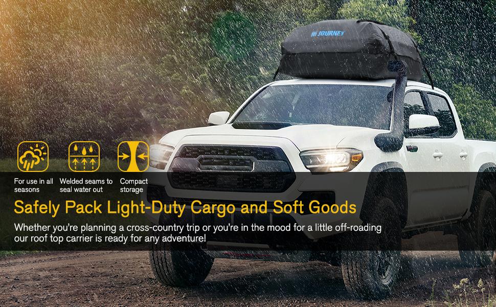 Waterproof Roof Top Cargo Bag Heavy Duty Luggage Storage Bag