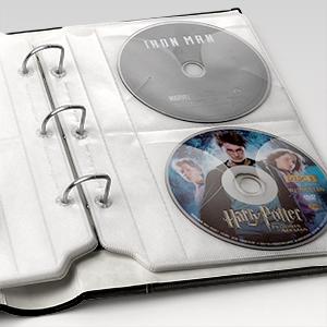 movie storage dvd storage disc sheets