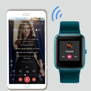 Smartwatch smart watch fitness armband Stoppuhren Schrittzähler damen