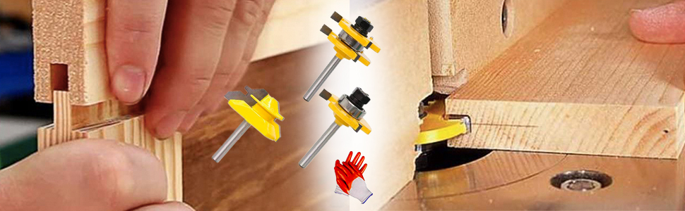 Tongue and Groove Router Bit Tool