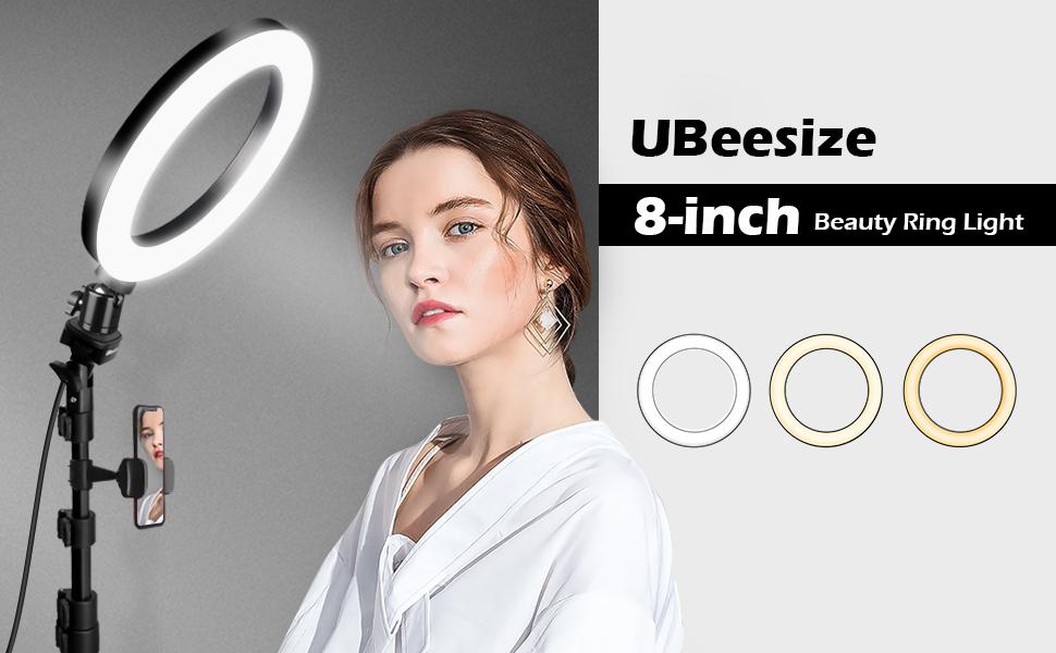 ubeesize 8 inch ring light
