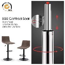 360° Swivel Kitchen Chair