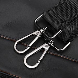 shoulder bag with clasp