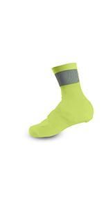 Giro Knit Yellow-Black Shoe Covers 2017