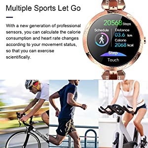 fitness tracker step counter pedometer calorie bluetooth watch activity tracker smart watch exercise