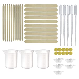 Silicone Resin Measuring Cups Tool Kit
