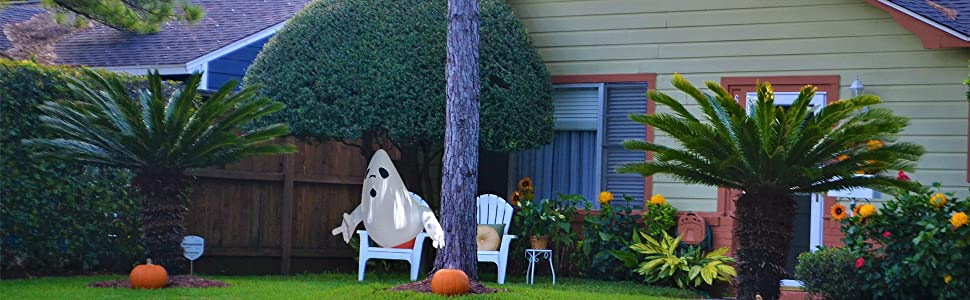 Inflatable Ghost Air Blown Toy Halloween Decoration