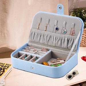 Jewelry Trave Box Light Blue