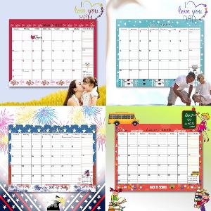 2020 2021 wall calendar cute designs