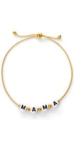 Gold Dipped Mama Bracelets