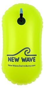 New Wave Swim Bubble 20L swim bouy swimmers buoy swimming bouy open water