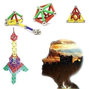 Improve children's imagination, creativity, and practical skills