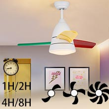 Timing speed control smart ceiling fan remote controls with fan light kits