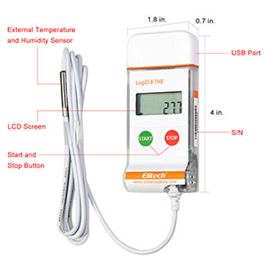-50 to 300 degree C Thomas Traceable Waterproof Thermometer with Probe//Cable