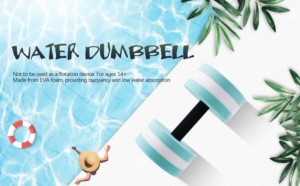 water dumbells