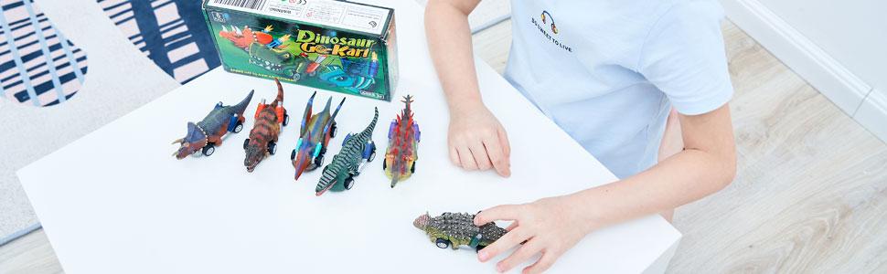 dinosaur cars pull back toys
