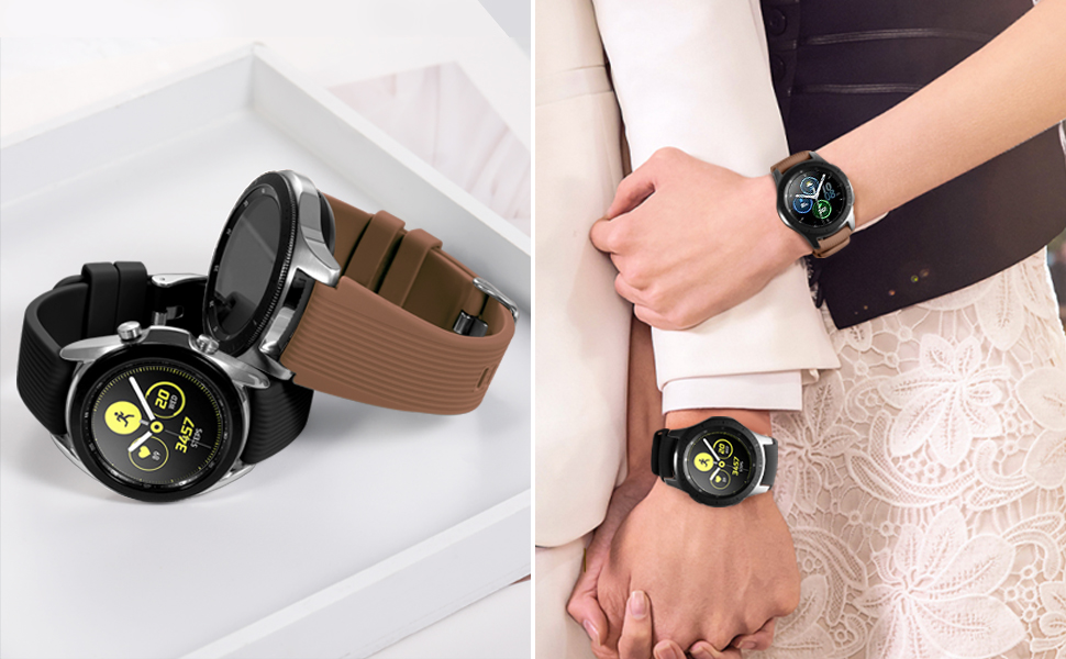 Compatible for Samsung Galaxy Watch 3 Band 45mm/Galaxy Watch Band 46mm/Gear S3 Frontier