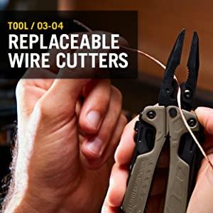 Leatherman OHT, Leatherman Multitool, Multipurpose Tool, Replaceable Wire Cutters, OHT Multitool