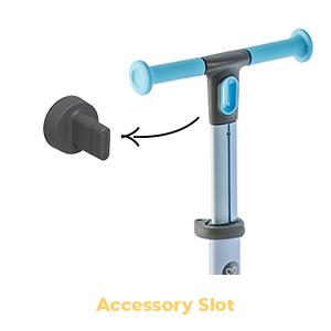 Nua accessory slot
