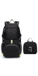 para Viaje y Deporte Outdoor 25L Cabe Laptop 15.6 Daypack Escolar Antirrobo Top Roll de Moda Backpack Impermeable Separaci/ón de Seco y H/úmedo Mochila Deportiva para Hombre Mujer Gris