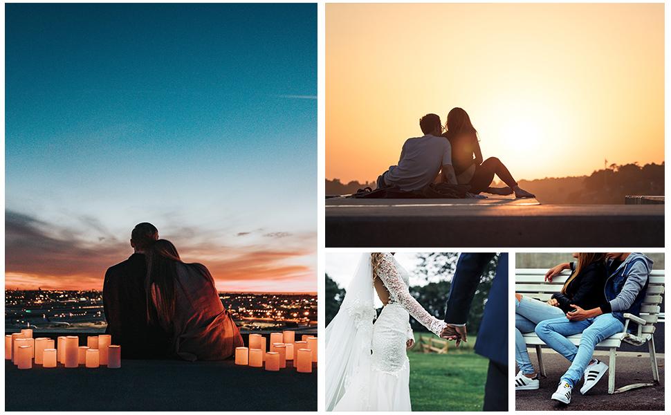 2Pcs infinito hecho a mano para siempre los amantes pareja pulseras de la amistad familia Trenzado