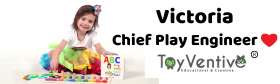 Victoria, a little girl is chief Play engineer at ToyVentive