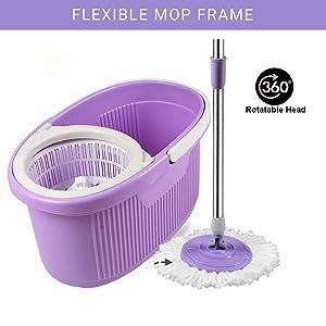 Flexible Mop Frame