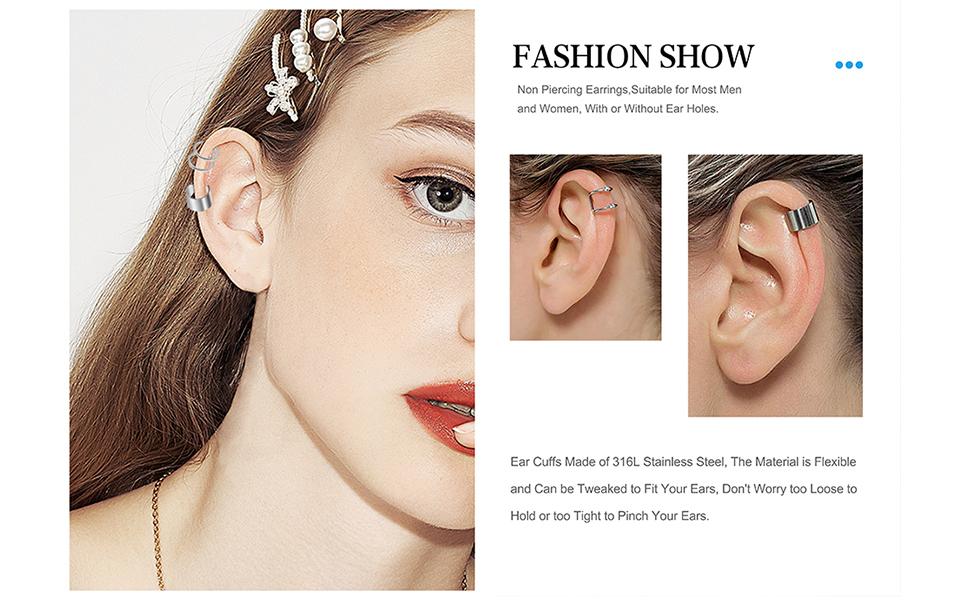 Non Piercing Earrings