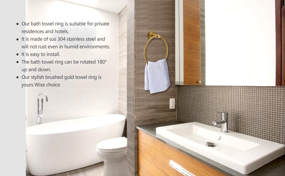 holder towel bathroom