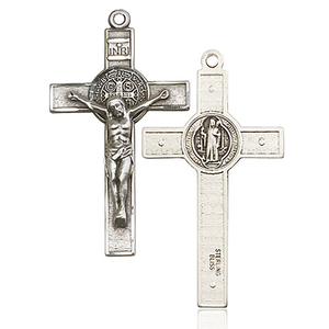 Saint Benedict Cross Front and Back