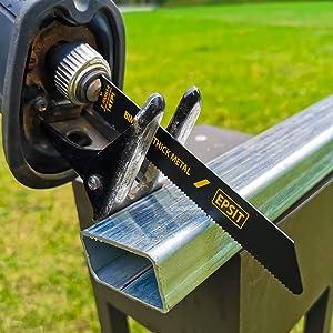Epsit 12-Piece Bi-Metal Reciprocating Saw Blade Set