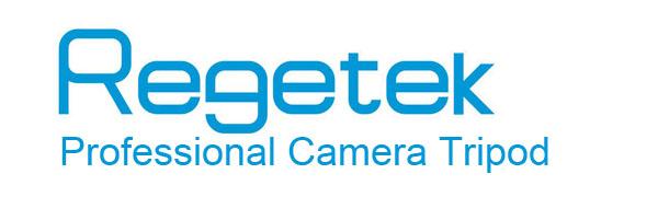 professional camera tripod regetek logo