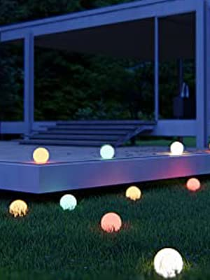 floating pool light ball