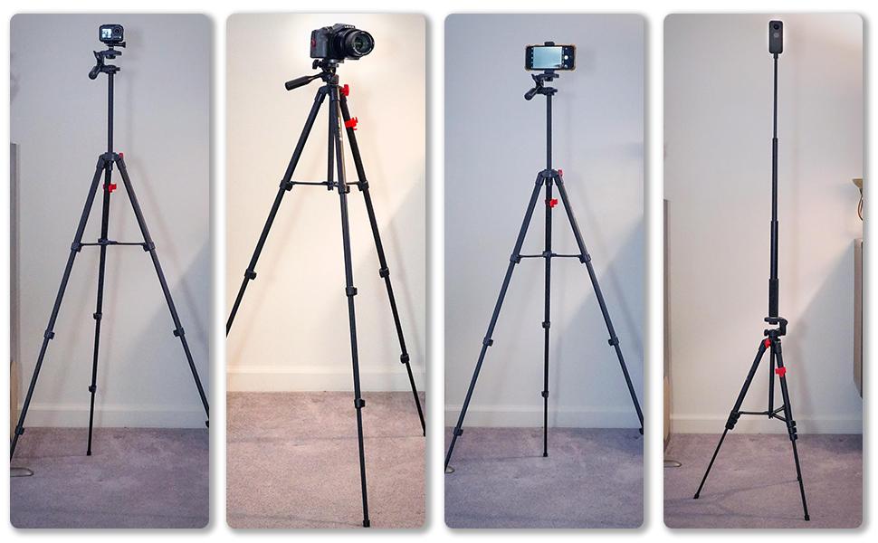 compatible con cámara de teléfono GoPro