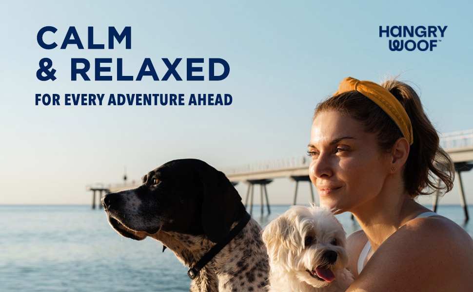 all natural dog calming treats aid anxiety stress