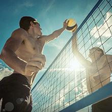 beach sport volleyball