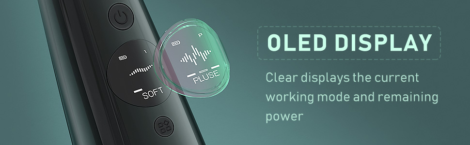 water flosser USB charge