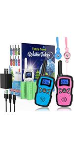 walkie talkies 2 pack