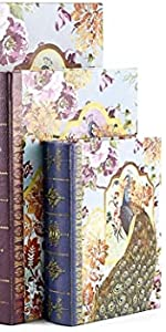 Keepsake Storage Memory Book Box High Ideal Gift for Wedding Memories Jewelry Trinket Hobby Cash