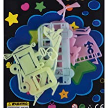 Birthday Gifts, Party Favor , Kids School , Room Decor Kids, Glow in the dark Stars and moon