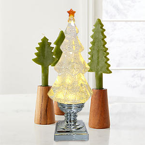 Christmas Snow Globe Lantern