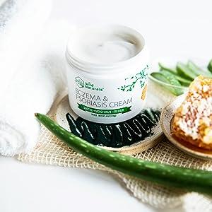 Wild Naturals Eczema & Psoriasis Cream pH Balanced