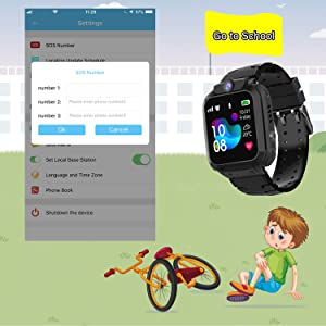 Smart Watch for Kids,Waterproof Smart Watch Phone With APP birthday gift and christmas present