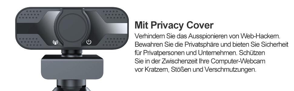 USB Webcam mit Stativ