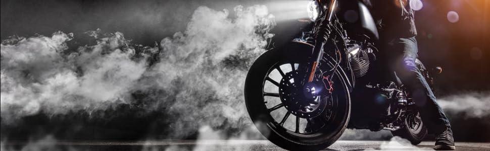 HGY De Escape de la Motocicleta Completa del Sistema de ventilaci/ón de Tubo Medio Enlace Conectar Compatible con KTM Duke 390 2013-2016